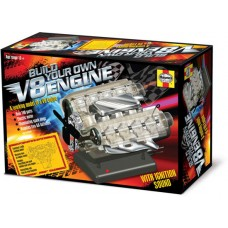 Visible Working V8 Engine Plastic Model Kit
