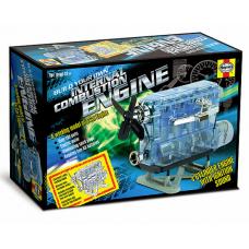 Visible Internal Combustion Engine Plastic Model Kit