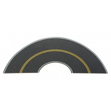 HO Flexible Self-Adhesive Paved Roadway - Vintage and Modern Curves