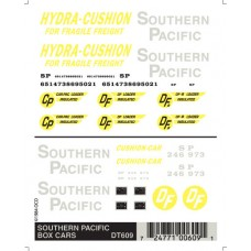 Southern Pacfic Box Car Dry Transfer Decals DT609