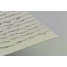 PS-130 O Scale Wood Shake Shingles Sheet 020 x 7 x 12 (2 pcs)