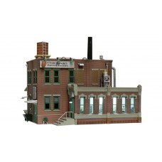 Woodland Scenics N scale Clyde & Dales Barrel Factory Built Up Building