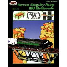 7 Step-By-Step HO Railroads Book
