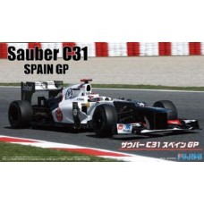 1/20 Sauber C31 Spain GP Plastic Model Kit