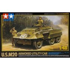 Tamiya 1/48 US M20 Armored Utility Car Plastic Model Kit
