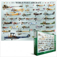 WWI Aircraft Collage (1000)
