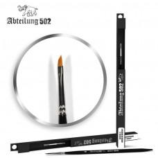 Size 4 Synthetic Angular Paint Brush