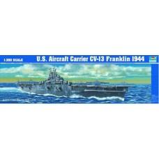 1:350 USS Franklin CV13 Aircraft Carrier Plastic Model Kit