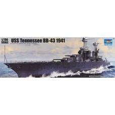 1:700 USS Tennessee BB-43 Battleship Plastic Model Kit