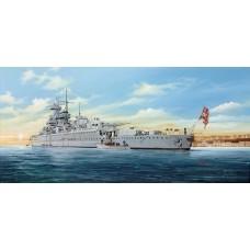1/350 German Pocket Battleship Admiral Graf Spree Plastic Model Kit