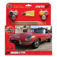 1:32 E Type Jaguar Plastic Model Kit