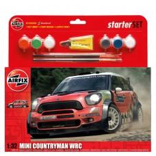 1/32 Mini Countryman WRC Starter Set Plastic Model Kit