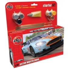 1:32 Aston Martin DBR9 Gulf Plastic Model Kit