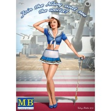 1/24 Suzie Join the Navy and See the World Pin-Up Plastic Model Kit
