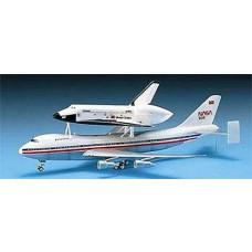 1:288 Space Shuttle/747 Transport Plastic Model Kit
