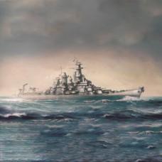 1/700 USS Missouri BB-63 Plastic Model Kit
