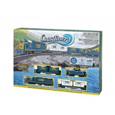 HO CSX Coastliner Electric Train Set