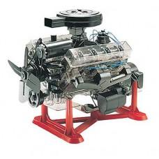 1:4 Visible V-8 Engine Plastic Model