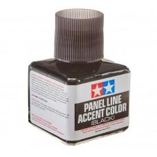 Panel Line Accent Color Black