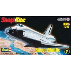 1:200 SnapTite Space Shuttle Plastic Model Kit