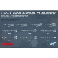 Meng Model 1:48 US Short Range A-A Missile Plastic Model Kit