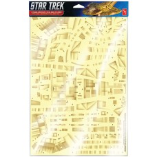 Polar Lights 1/750 Star Trek Deep Space Nine Cardassian Paneling Decal Set