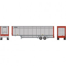Athearn 40' Trailer UPS/Red Ends #8704