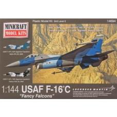 1/144 USAF F-16C Plastic Model Kit