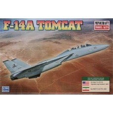 1/144 F-14A Tomcat USN Plastic Model Kit