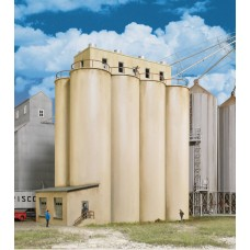 Modern Grain Head House w/Silos (HO)