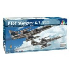 Italeri 1:32 F-104 Starfighter G/S Plastic Model Kit