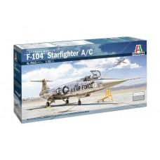 Italeri 1/32 F-104 A/C Starfighter Plastic Model Kit