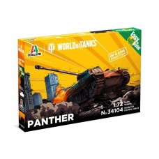 Italeri 1:72 Pzkfw. V Panther (World of Tanks) Fast Assembly Plastic Model Kit