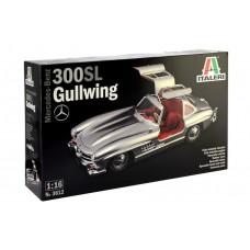 Italeri 1/16 Mercedes Benz 300SL Gullwing Plastic Model Kit