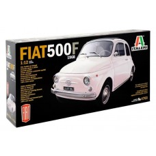 Italeri 1/12 Fiat 500F 1968 Plastic Model Kit 4703