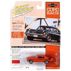 Johnny Lightning 1:64 1970 COPO Yenko Orange Die-Cast Car