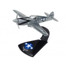 Johnny Lightning 1/144 P-40E Warhawk Gray Markings Die-Cast