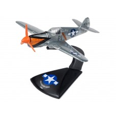 Johnny Lightning 1/144 P-40E Warhawk Orange Markings Die-Cast