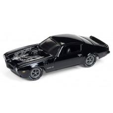 Johnny Lightning 1/64 1973 Pontiac Firebird Gloss Black JLSF009