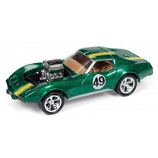 Johnny Lightning 1/64 1975 Chevrolet Corvette Forest Green JLSF009
