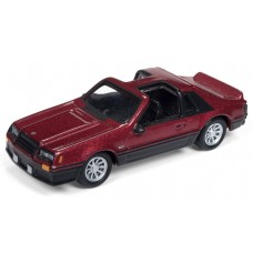 Johnny Lightning 1/64 1982 Ford Mustang Two Tone Die-Cast Car