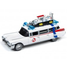 Johnny Lightning 1/64 Ghostbusters Ecto 1 1959 Cadillac Die-Cast