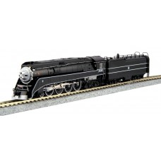 Kato N Scale GS-4 BNSF Excursion Black #4449 Locomotive