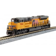 Kato N Scale EMD SD70ACe Nose Headlight Version - Union Pacific #9041 Locomotive
