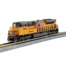 Kato N Scale EMD SD70ACe Nose Headlight Version - Union Pacific #9088 Locomotive
