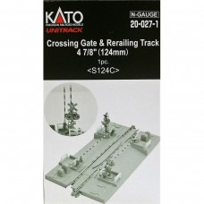 Kato N Crossing Gate & Re-Railer Track
