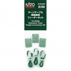 Kato N Scale Unitrack Turntable Extension Track Power Feeder Kit