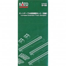 Kato N Scale Unitrack Straight Turntable Extension Track Set