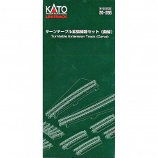 Kato N Scale Unitrack Curved Turntable Extension Track Set