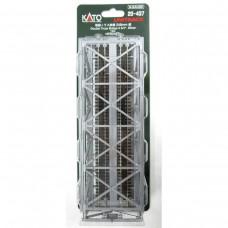 "Kato N Scale Double-Track Truss Bridge - 9.75"" 24.8cm (Siilver) Track"